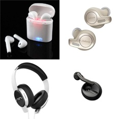 10 Pcs - Headphones & Portable Speakers - Tested NOT WORKING - Sinway, GN Group, SOL REPUBLIC, GoNovate
