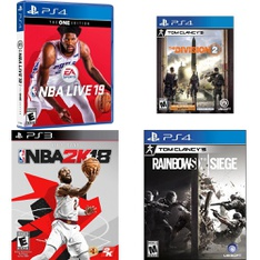 11 Pcs – Sony Video Games – Used, Like New – NBA Live 19(PS4), Fifa 17 : PS3, NBA 2K18 Early Tip Off Edition (PlayStation 3), Tom Clancy's The Division 2 (PS4)