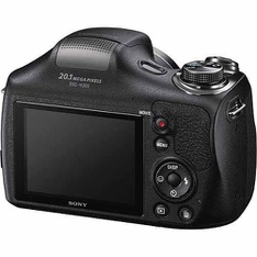 28 Pcs - Sony Black DSC-H300/B Digital Camera with 20.1 Megapixels - (GRADE A, GRADE B) - Sony