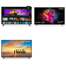 24 Pcs – LED/LCD TVs – Refurbished (GRADE A, GRADE B) – VIZIO