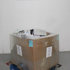 Pallet - 146 Pcs - Accessories, Other, DVD Discs, Monitors - Customer Returns - Onn, One For All, HP, Electronic Arts