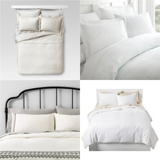 65 Pcs - Comforters and Duvets - New - Retail Ready - threshold, Hearth & Hand with Magnolia, Fieldcrest, Simply Soft