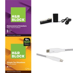 Pallet – 411 Pcs – Electronic Accessories – Customer Returns – Onn, H&R Block, Blackweb, GE