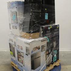Pallet - 9 Pcs - Bar Refrigerators & Water Coolers, Refrigerators - Customer Returns - Galanz