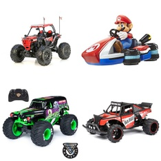 Pallet – 32 Pcs – Vehicles, Trains & RC, Dolls – Customer Returns – New Bright, Adventure Force, Monster Jam, JAKKS PACIFIC