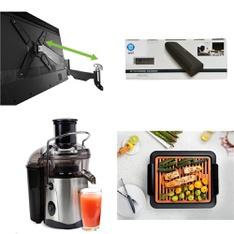 Truckload - 2173 Pcs - Kitchen & Dining, Lamps, Parts & Accessories, Hardware, Bar Refrigerators & Water Coolers - Customer Returns - ATLANTIC, Jack LaLanne, Range Kleen, Mainstays
