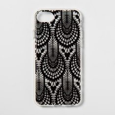 31 Pcs - heyday Apple iPhone 8/7/6s/6 Case, Printed Lace, Black - Like New, New Damaged Box, Open Box Like New, New - Retail Ready