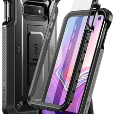 45 Pcs - Supcase S-S10E-UBP-SP-BK Samsung Galaxy S10e Unicorn Beetle Pro Series Designed Case, Black - Like New - Retail Ready