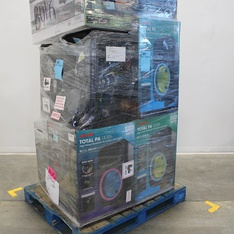 Pallet - 13 Pcs - Portable Speakers - Customer Returns - Ion, Altec Lansing