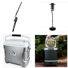Pallet - 13 Pcs - Grills & Outdoor Cooking, Trimmers & Edgers - Customer Returns - Igloo, Hart Consumer Products, Inc., Dynatrap