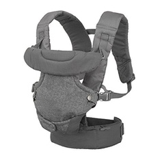 150 Pcs - Infantino (200-183) Flip Advanced 4-in-1 Convertible Carrier, Light Grey - New - Retail Ready
