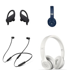 100 Pcs – Beats Headphones – Headphones & Portable Speakers -> In Ear Headphones – Refurbished (BRAND NEW, GRADE A, GRADE B)