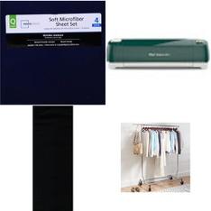 Pallet – 59 Pcs – Sheets, Pillowcases & Bed Skirts, Storage & Organization, Arts & Crafts – Customer Returns – Mainstay's, Mainstays, Better Homes & Gardens, Cricut