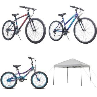 Pallet – 7 Pcs – Cycling & Bicycles – Customer Returns – Movelo, Ozark Trail, MGA Entertainment, Huffy