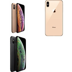 5 Pcs - Apple iPhone XS 64GB - Unlocked - Certified Refurbished (GRADE C)