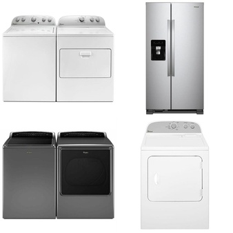 Lowes – 89 Pcs – Laundry, Refrigerators, Ovens / Ranges, Bar Refrigerators & Water Coolers – Customer Returns – WHIRLPOOL, Maytag, Roper, KitchenAid