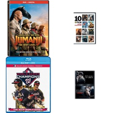 20 Pcs – Movies & TV Media – New Damaged Box, New, Like New, Open Box Like New – Retail Ready – Sony Pictures Home Entertainment, Shout Factory, Warner Bros., Universal Pictures
