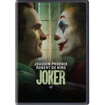 50 Pcs – WarnerBrothers Joker (DVD) – New – Retail Ready