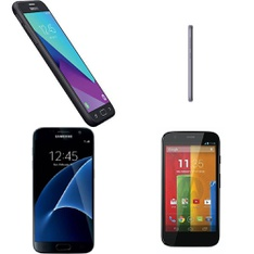 CLEARANCE! 55 Pcs - Mobile & Smartphones - Refurbished (BRAND NEW, GRADE A, GRADE B - Not Activated) - Samsung, Motorola, ZTE, Nokia