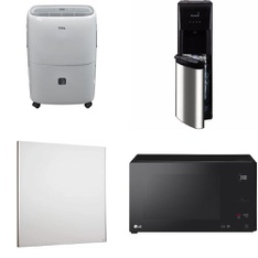 Pallet – 11 Pcs – Humidifiers / De-Humidifiers, Bar Refrigerators & Water Coolers – Customer Returns – TCL North America, Hamilton Beach, Hamilton, LG