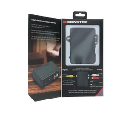93 Pcs – MONSTER INC Mn Digital/analog Adapt – Used, Like New, New – Retail Ready