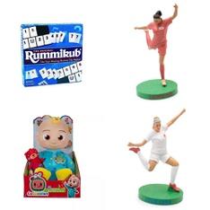 Pallet – 218 Pcs – Action Figures, Boardgames, Puzzles & Building Blocks, Dolls – Customer Returns – Pressman Toy, Hasbro, CultureFly, Lego