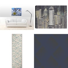 100 Pcs - Home Decor - New - Retail Ready - threshold, JP London, Graham & Brown Wallcoverings Inc., Gallery Solutions