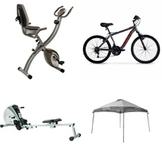 Pallet - 8 Pcs - Cycling & Bicycles - Customer Returns - Sunny Health & Fitness, Ozark Trail, Hyper Bicycles, Huffy