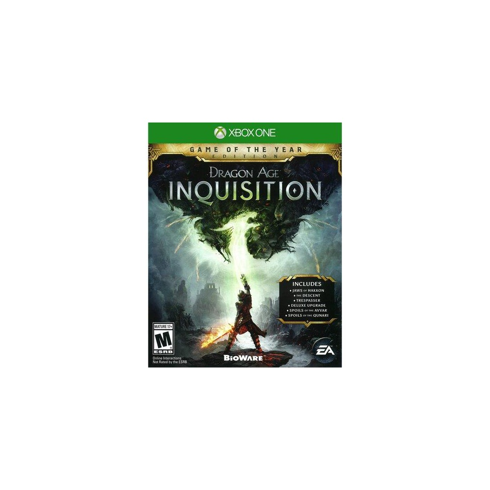 132 Pcs - Electronic Arts Dragon Age Inquisition Game of the Year ED(Xbox  One) - New, Open Box Like New, Used, Like New - Retail Ready