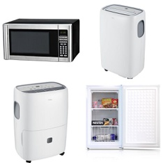 Pallet - 11 Pcs - Microwaves, Humidifiers / De-Humidifiers - Customer Returns - Hamilton Beach, TCL, Arctic King, Bionaire