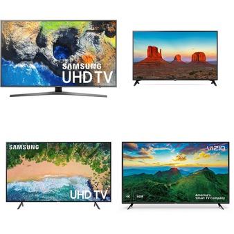 5 Pcs – LED/LCD TVs (46″ – 55″) – Refurbished (GRADE C) – Samsung, RCA, VIZIO, LG