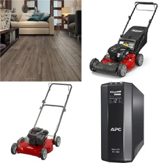 3 Pallets - 31 Pcs - Hardware, Mowers, Other - Customer Returns - Select Surfaces, Hyper Tough, Snapper, APC