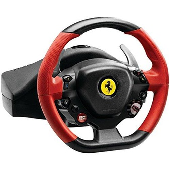 34 Pcs – Thrustmaster 4460105 Ferrari 458 Spider Racing Wheel compatible with Xbox One – Refurbished (GRADE A) – Video Game Controllers