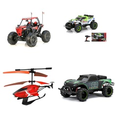3 Pallets – 179 Pcs – Vehicles, Trains & RC, Boardgames, Puzzles & Building Blocks, Powered – Customer Returns – New Bright, Adventure Force, Sky Rover, VTECH