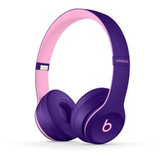 Beats by Dr. Dre Solo3 Wireless Pop Violet Beats Pop Collection On Ear Headphones MRRJ2LL/A - Refurbished