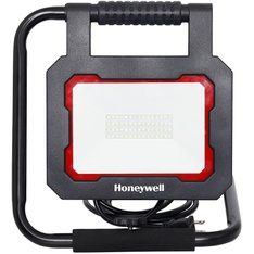 100 Pcs – Honeywell 73868 LED 3000 Lumen Collapsible Work Light with Rotating Light Head – New – Retail Ready
