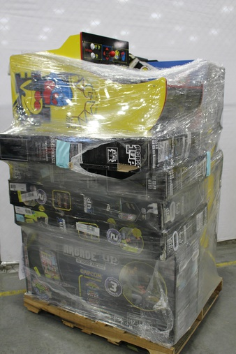Pallet – 12 Pcs – Other – Customer Returns – Red Planet, Arcade 1UP