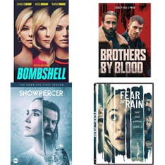 137 Pcs - Movies & TV Media - New - Retail Ready - Lionsgate, WARNER HOME VIDEO, Warner Brothers, Lionsgate Home Entertainment