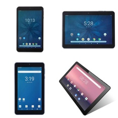 17 Pcs - Tablets - Refurbished (GRADE C) - Onn, IVIEW, onn., EVOO