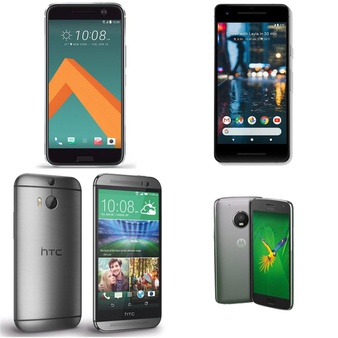 CLEARANCE! 13 Pcs – Mobile & Smartphones – Refurbished (BRAND NEW, GRADE A, GRADE C) – HTC, Nokia, Motorola, Google
