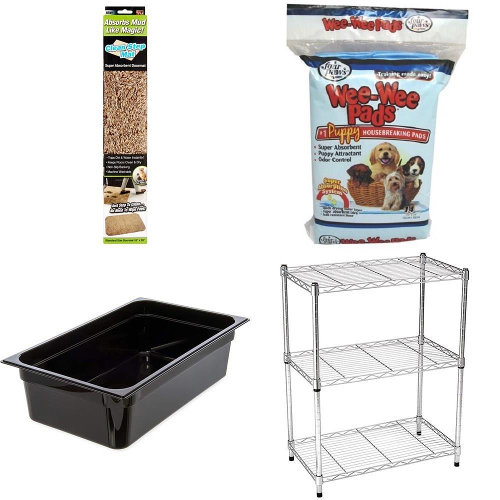 Pallet - 71 Pcs - Rugs & Mats, Pet Toys & Pet Supplies, Dental, Medical,  Lab & Scientific Equipment & Supplies, Storage & Organization - Customer