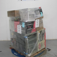 Pallet - 8 Pcs - Air Conditioners, Grills & Outdoor Cooking - Tested NOT WORKING - Members Mark, Action Wheels, GE, Farberware