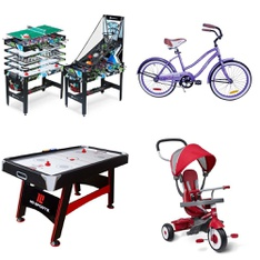 Pallet - 8 Pcs - Game Room - Customer Returns - MD Sports, Radio Flyer, Hathaway, Blue Wave Products, Inc.
