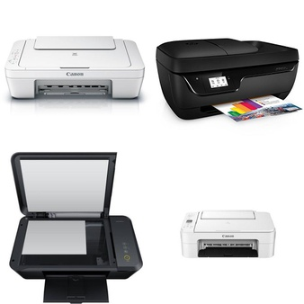 CLEARANCE! 547 Pcs – All-In-One, Inkjet, Laser, Ink, Toner, Accessories & Supplies – Customer Returns – HP, Canon, Brother, EPSON