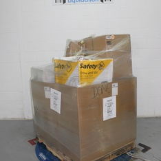 6 Pallets - 64 Pcs - Car Seats, Lighting & Light Fixtures, Pressure Washers, Humidifiers / De-Humidifiers - Damaged / Missing Parts - Guardian Technologies LLC., Kimble, Prima Lighting, Shark