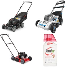 Pallet – 6 Pcs – Lawn Mowers – Customer Returns – Murray, Hyper Tough, Hart, The Scotts Miracle-Gro Company