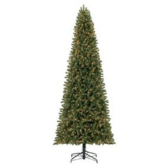 10 Pcs – Member's Mark TGC0P4693L03 12′ Ellsworth Fir Christmas Tree – New – Retail Ready
