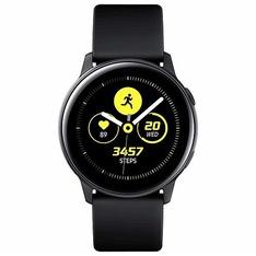 31 Pcs – Samsung SM-R500NZKAXAR Galaxy Watch Active 40mm Black US Version – Refurbished (GRADE A – No Power Adapter)