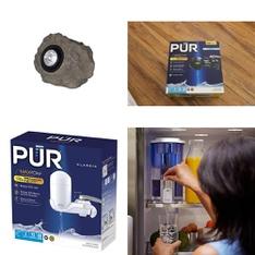 3 Pallets - 730 Pcs - Kitchen & Dining, Hardware, Smoke Alarms & CO Detectors, Lighting & Light Fixtures - Customer Returns - Kaz, PUR, Kidde, Mainstays