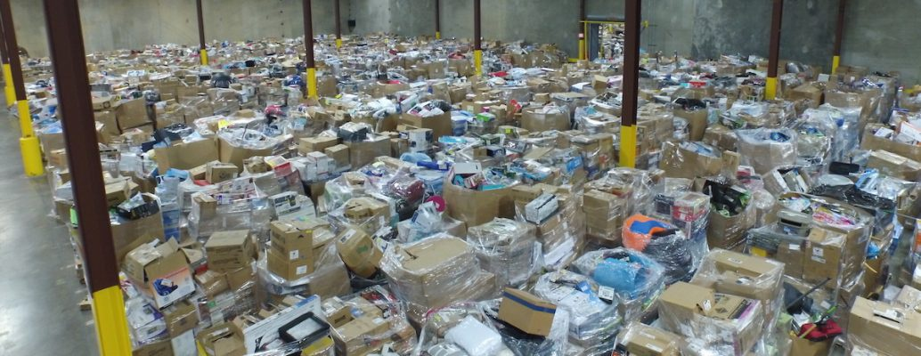 wholesale pallets in warehouse